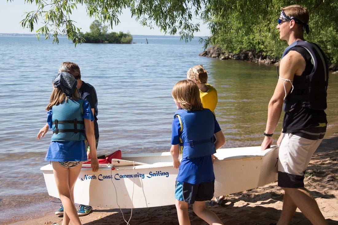 Group sailing opportunities on Lake Superior